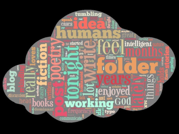 Here's a Wordle of some of the words on this page